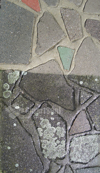 how to clean stained paving stones